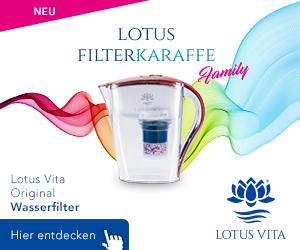 Lotus Vita Wasserfilter Aktion